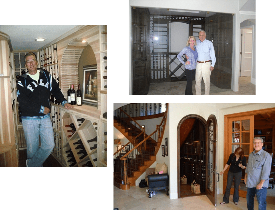 Wine Cellar Design by Coastal Custom Wine Cellar Installers