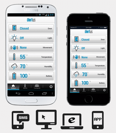Elertus Smart Sensor App