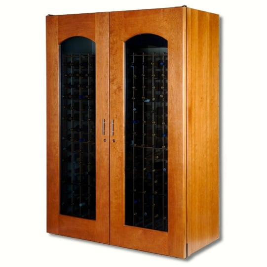 10. Le Cache Model 5200 Wine Cabinet Provincial Cherry, #742