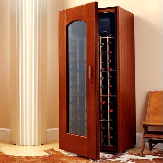 2. Le Cache Model 1400 Wine Cabinet Classic Cherry, #1041