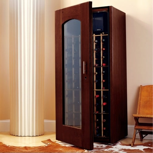 3. Le Cache Model 1400 Wine Cabinet Chocolate Cherry, #1042