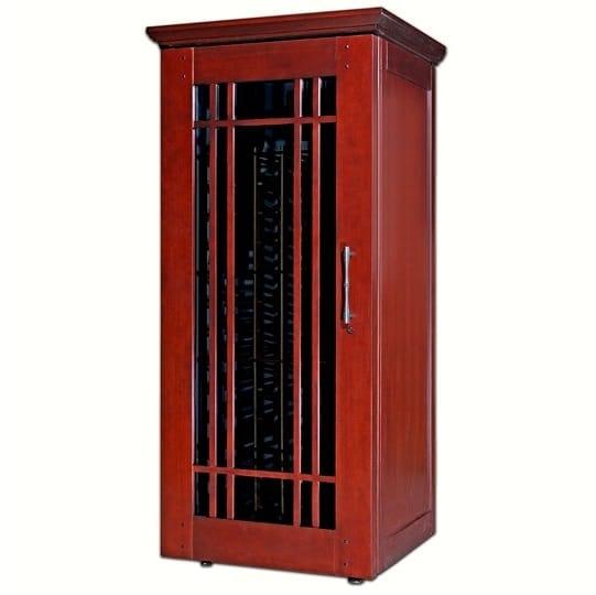 4. Le Cache Mission 1400 Wine Cabinet Classic Cherry, #880