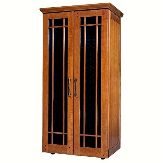 5. Le Cache Mission 2400 Wine Cabinet Provincial, #886