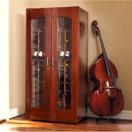 5. Le Cache Model 2400 Wine Cabinet Classic Cherry, #734