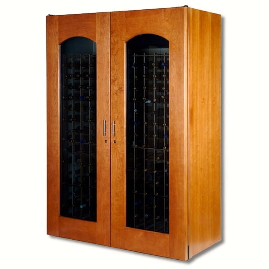 7. Le Cache Model 3800 Wine Cabinet Provincial Cherry, #739