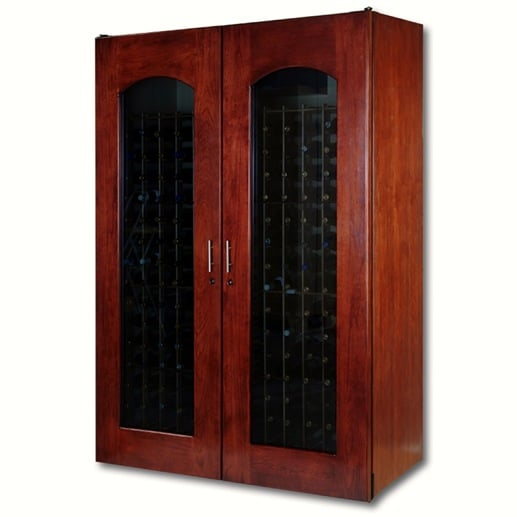 8. Le Cache Model 3800 Wine Cabinet Classic Cherry, #737