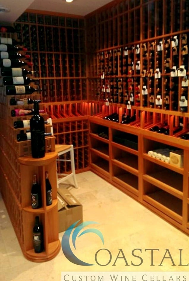 Coastal Custom Wine Cellars Baltimore Project