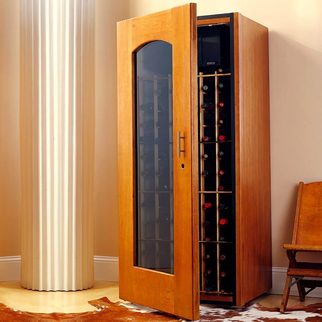 Click here to see more contemporary styled wine cabinets