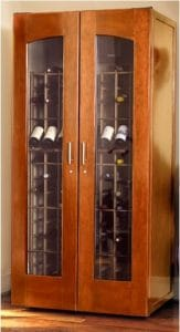 European country isn't your style? Check out our line of modern and contemporary wine cabinets by Le Cache