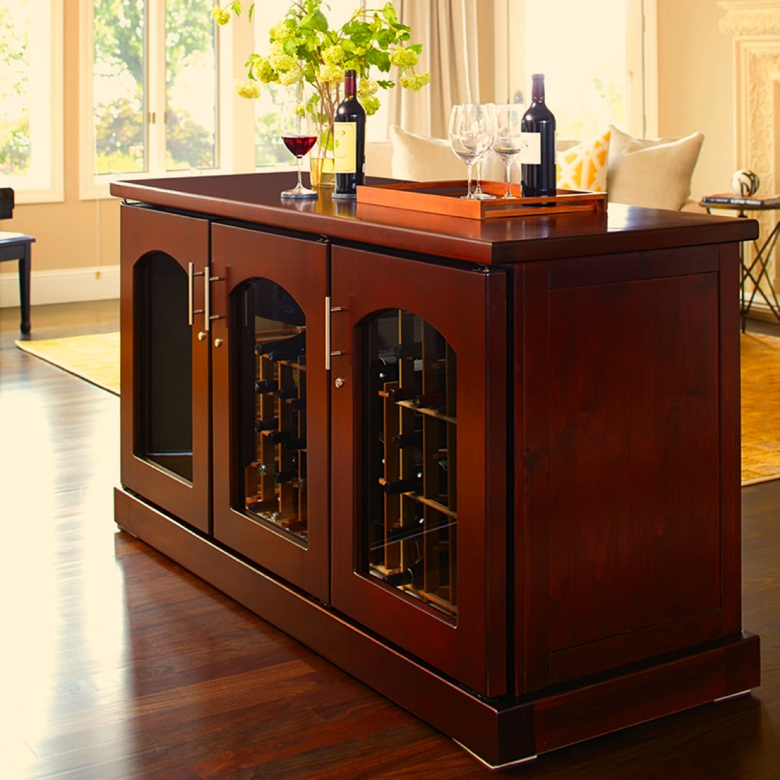 Click here to see more Credenza Wine Cabinets