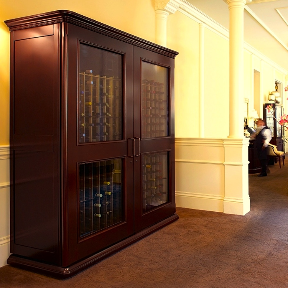 Click here to see more European styled styled wine cabinets