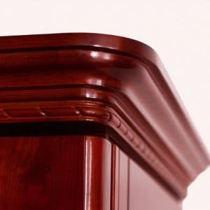 Beautiful hand-crafted molding by Le Cache for their European Country line.