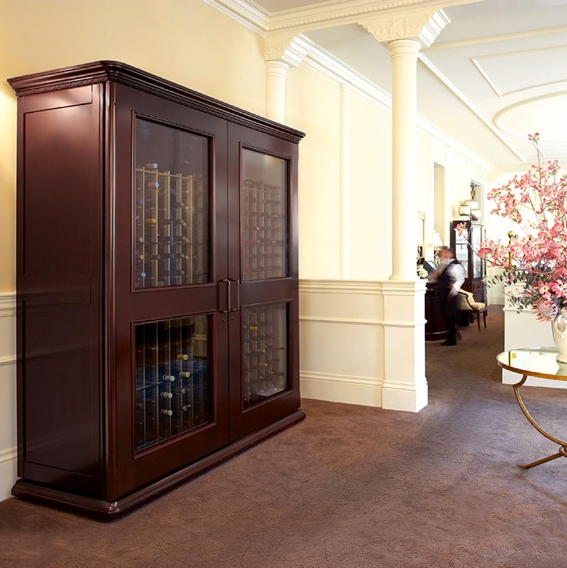 Le Cache Wine Cabinet Le Cache European Country Wine Cabinets Coastal Custom Wine Cellars