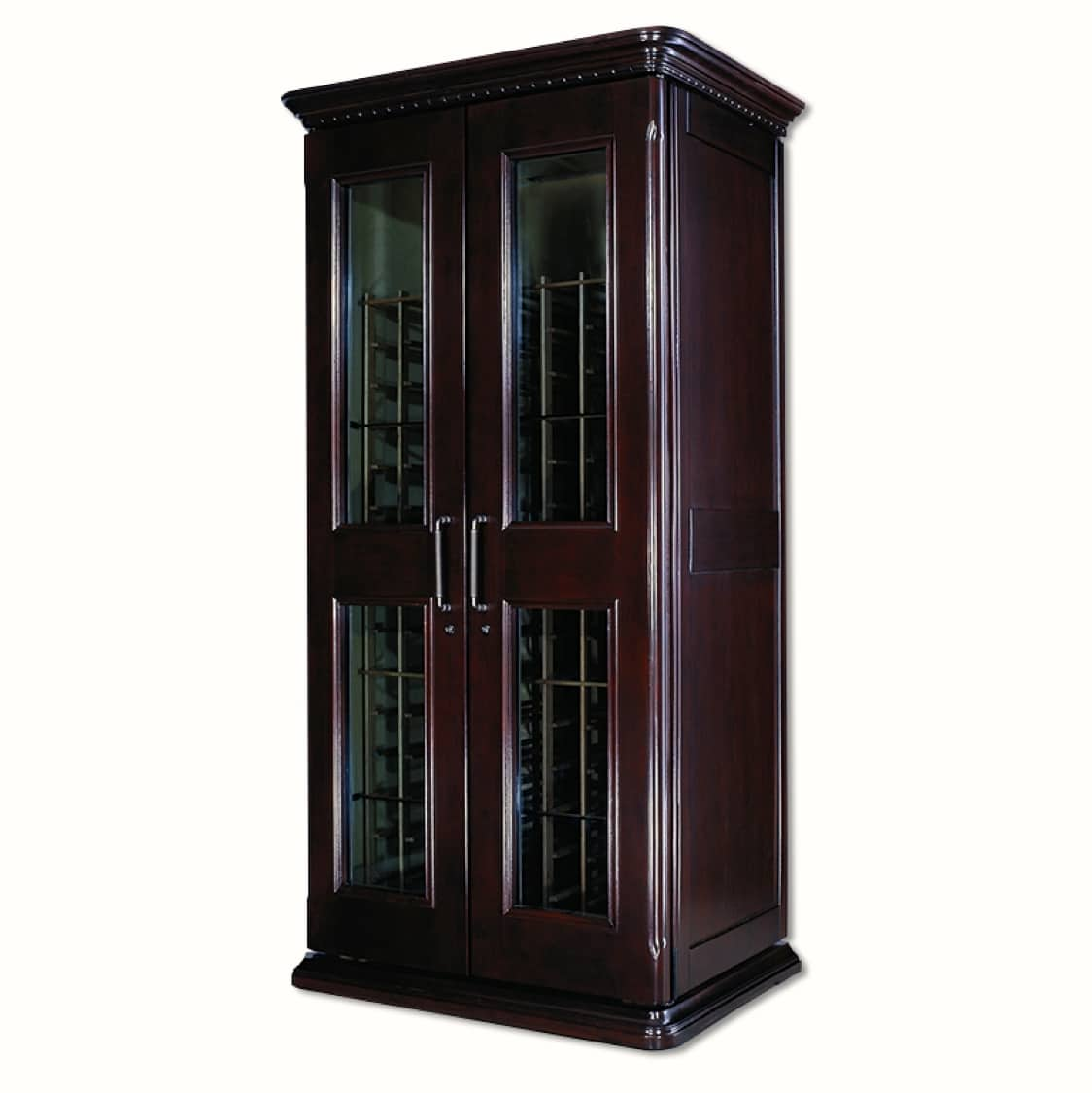 6. Le Cache Euro 2400 Wine Cabinet Chocolate Cherry, #747