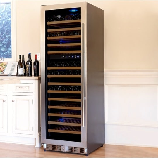6. Loft 1200 153-Bottle Dual Zone Cellar, #8740