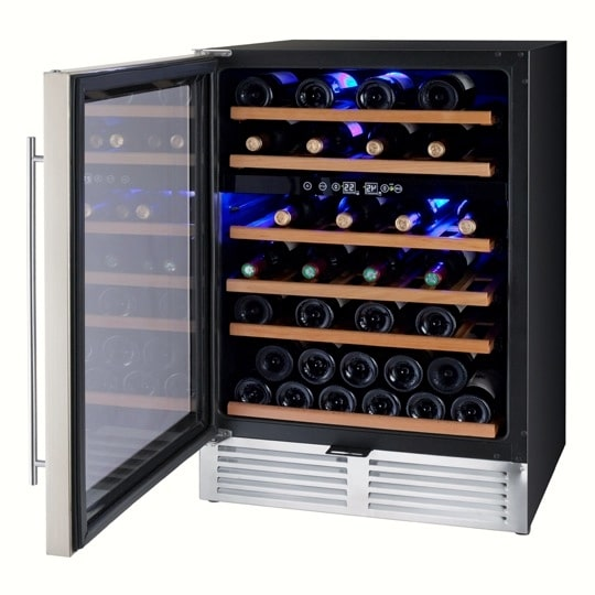 7. Loft 400 48-Bottle Dual Zone Cellar, #16156