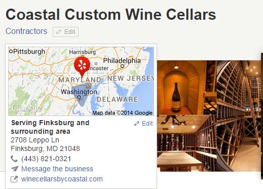Coastal Custom Wine Cellars Maryland