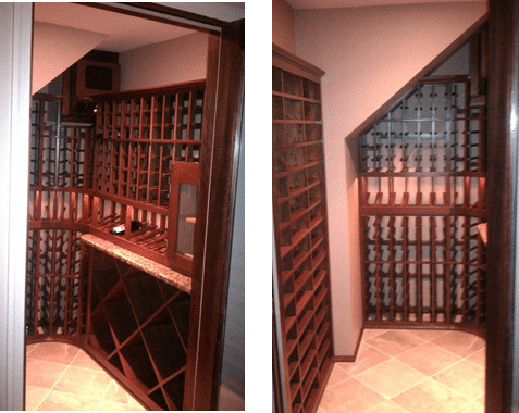 Custom Wine Room Conversion Baltimore, Maryland