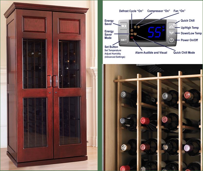 Le Cache Carolina wine cabinet