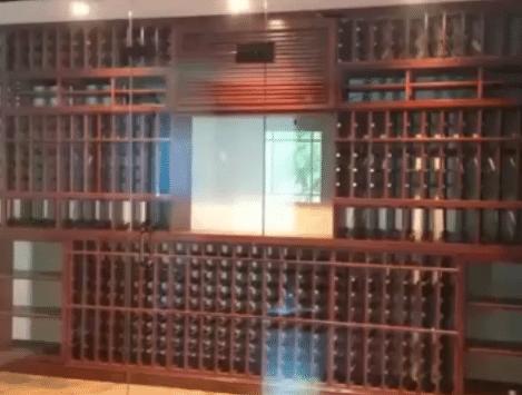 Mahogany Wine Cellar Racks