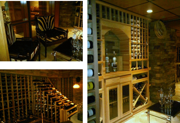 Residential Wine Room, Short Hills, Freehold