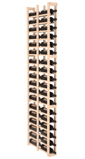 1 Column 6 5 Ft Pine Double Deep Wine Rack Kit