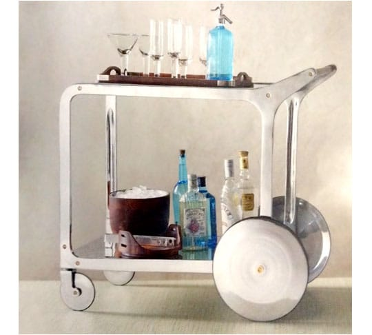 13. Cirque Bar Cart, #15527