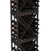 6.5 Ft Black Pine Diamond Bin Wine Rack Kit