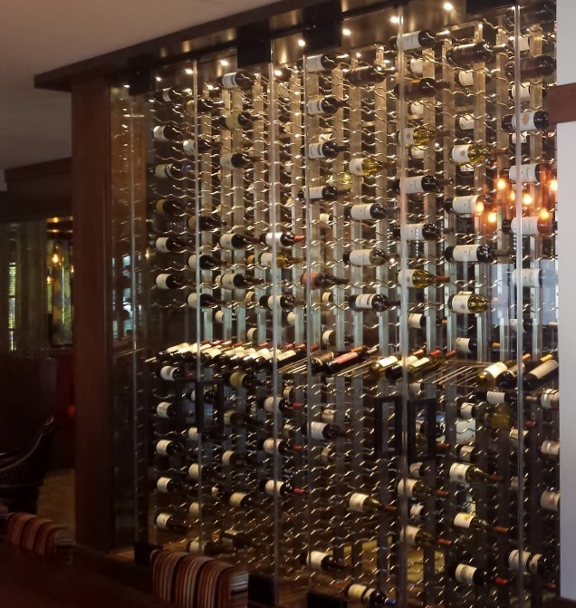 Vintage View Metal Wine Racks at Coto de Caza Golf and Racquet Club