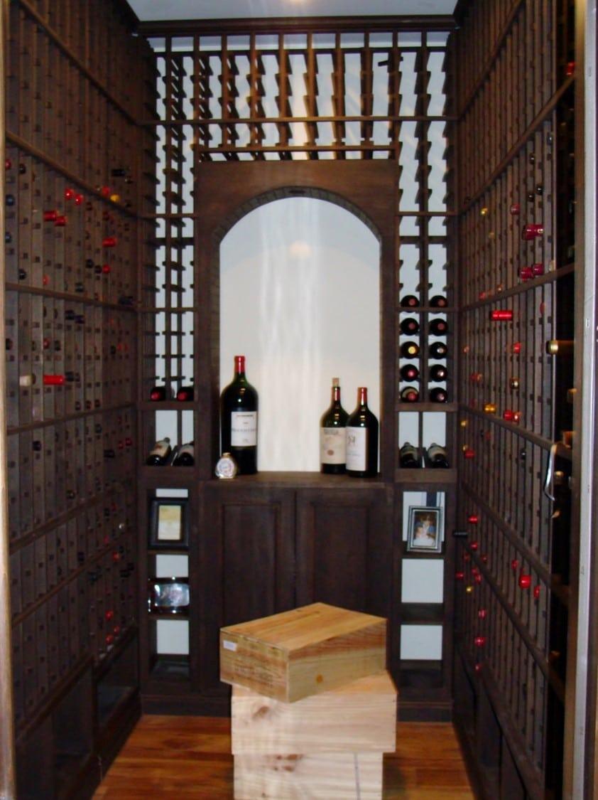 Custom Wine Cellar Design For Your Home  Coastal Custom Wine - Home wine cellar design