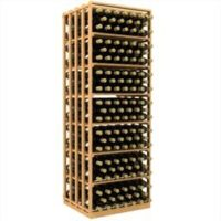 300-bottled standalone Double Deep Rectangular Wine Rack Bin and Case