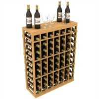 Individual Half Wine Rack with Table Top measuring 41 inches in height