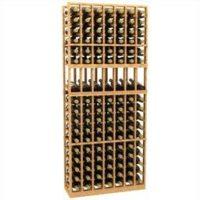 6'-7-Column-Display-Wood-Wine-Rack