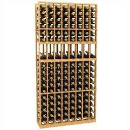 6′-Eight-Column-Display-Wood-Wine-Rack