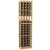 6'-Four-Column-Display-Wood-Wine-Rack