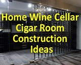 Home Wine Cellar Cigar Room Construction