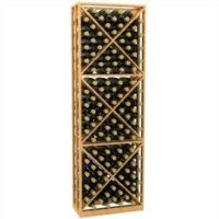 6'-Lattice-X-Cube-Storage-Wood-Wine-Rack