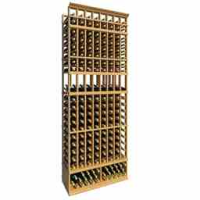 8-Ft-Eight-Column-Display-Wood-Wine-Rack