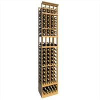 8-Ft-Four-Column-Display-Wood-Wine-Rack
