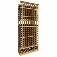 8-Ft-Nine-Column-Display-Wood-Wine-Rack