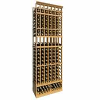 8-Ft-Seven-Column-Display-Wood-Wine-Rack