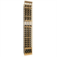 8-Ft-Three-Column-Display-Wood-Wine-Rack