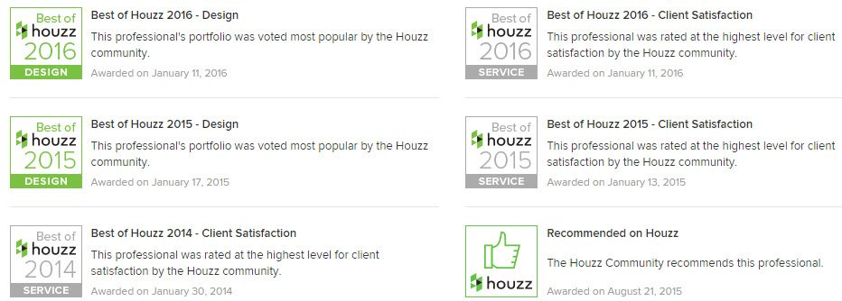 Coastal Wine Cellars Best of Houzz Winner Again 2016