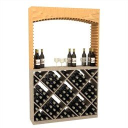 Wooden-Wine-Rack-Archway