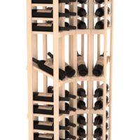 4 Column 6.5 Ft Display Corner Wine Rack Kit By Coastal Pine Natural