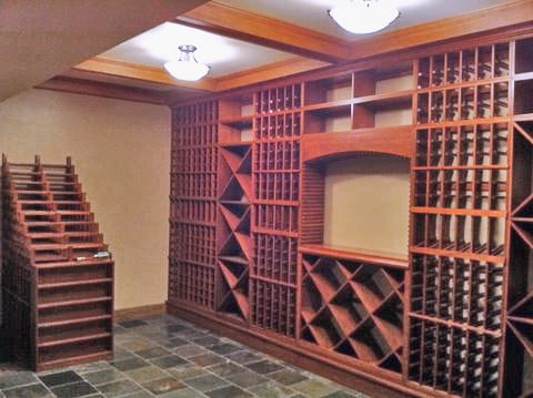 Example wine cellar created using these 6 Ft Wine Rack Kits, have a question, need a quote or a design?
