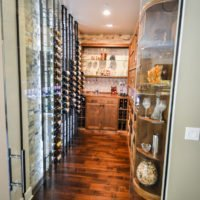 Custom Wine Cellar Design Transitional Style Southern California